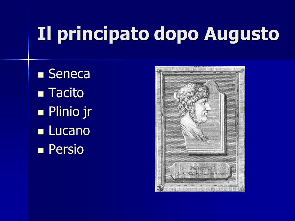 Il principato dopo Augusto