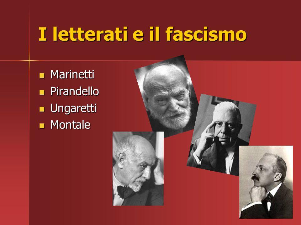 I letterati e il fascismo