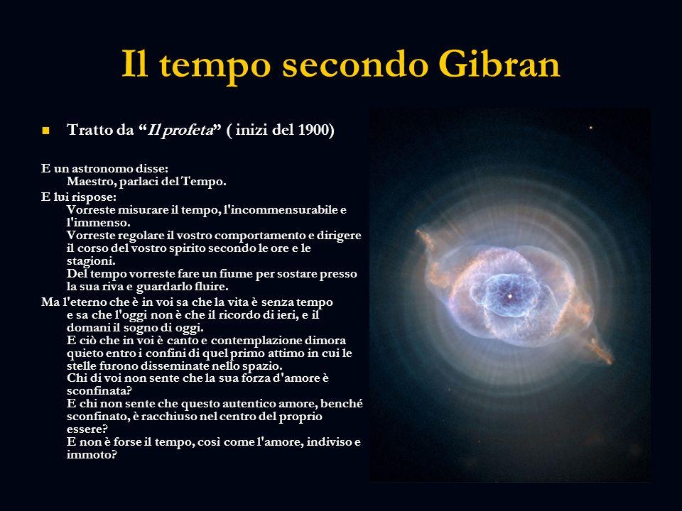 Il tempo secondo Gibran