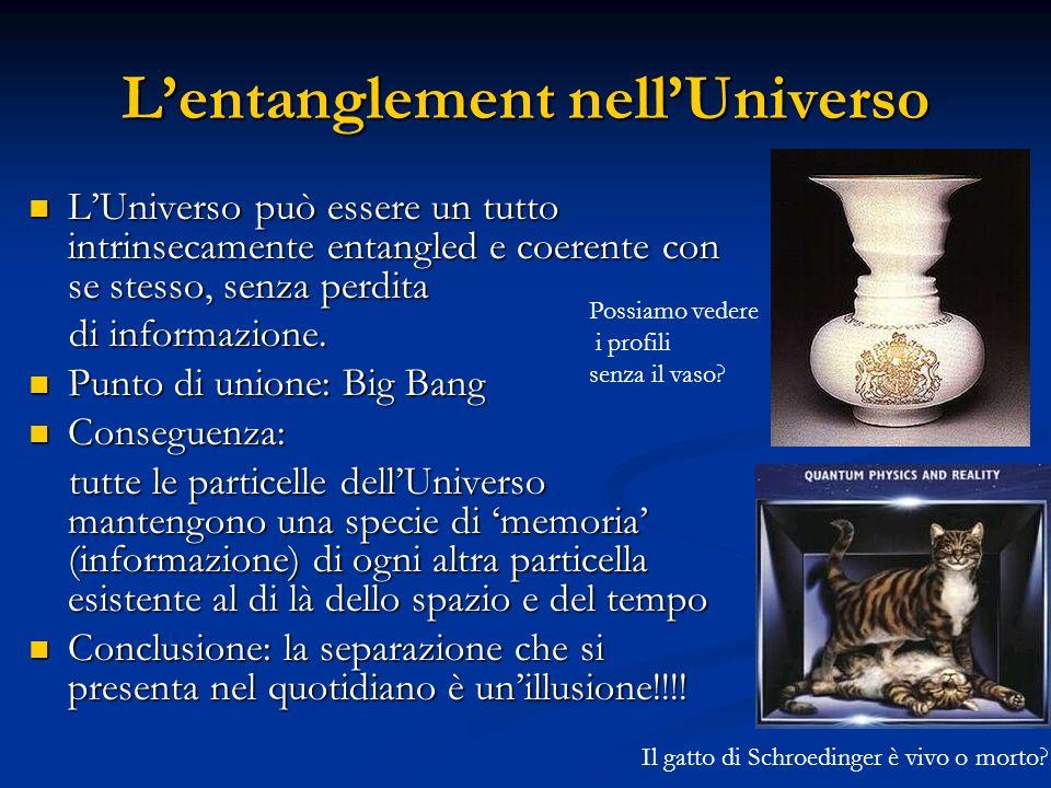 L'entanglement nell'Universo