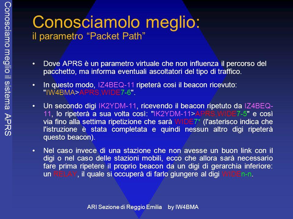 Conosciamolo meglio: il parametro Packet Path