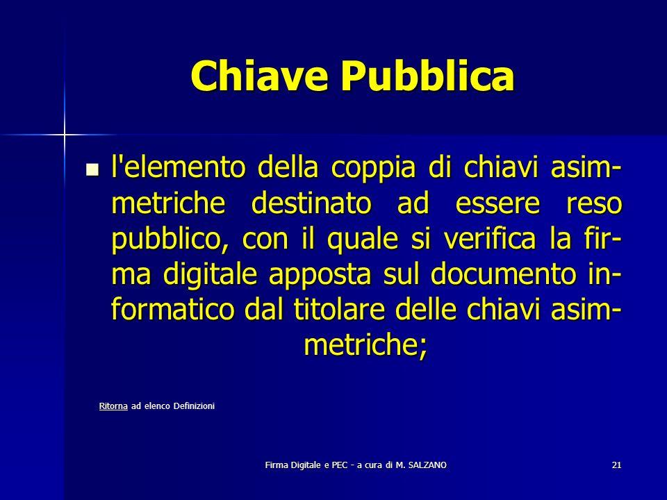 Chiave Pubblica