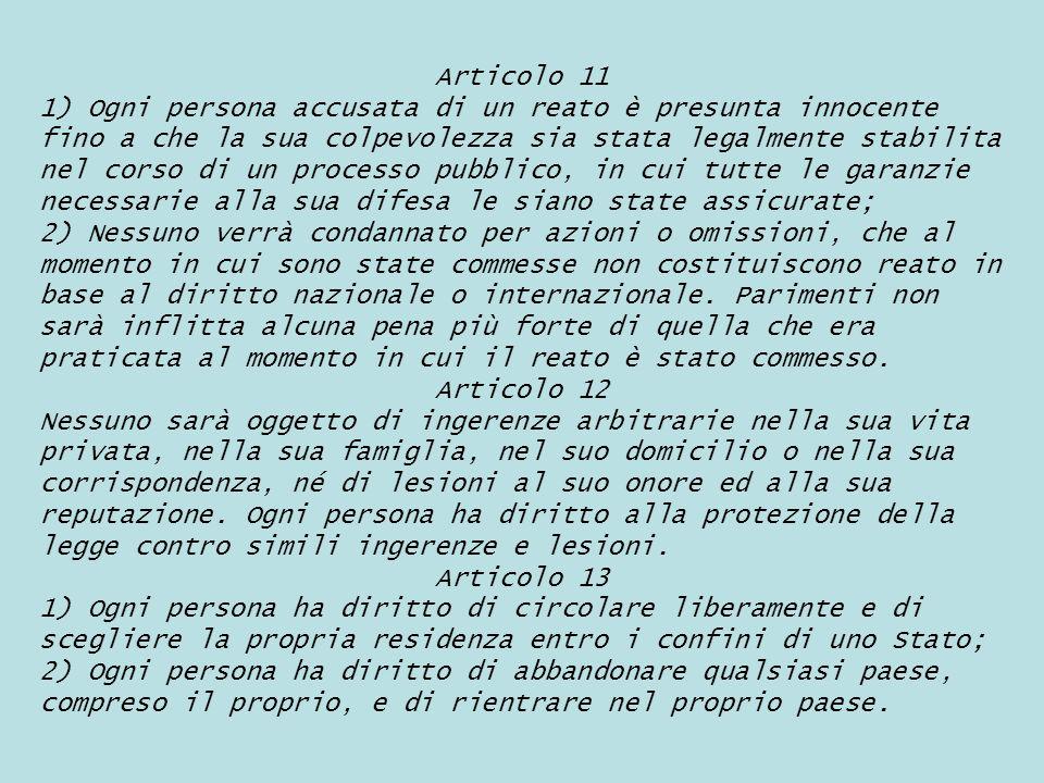 Articolo 11