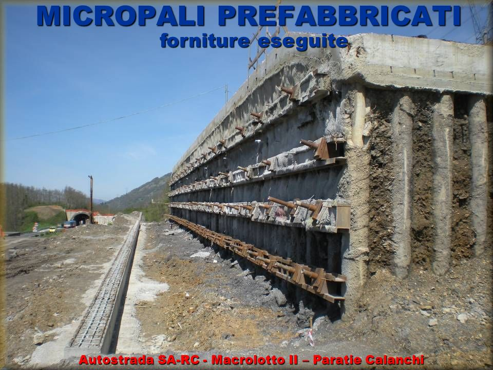 MICROPALI PREFABBRICATI