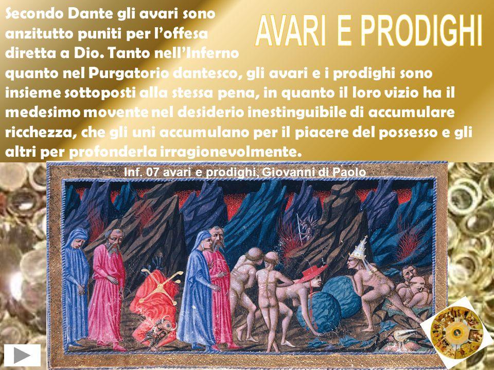 Inf. 07 avari e prodighi, Giovanni di Paolo