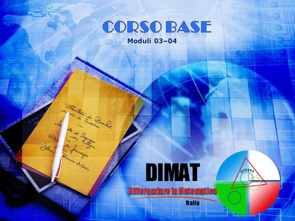 CORSO BASE Moduli 03–04
