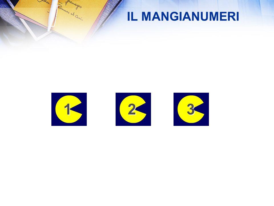 IL MANGIANUMERI 1 2 3