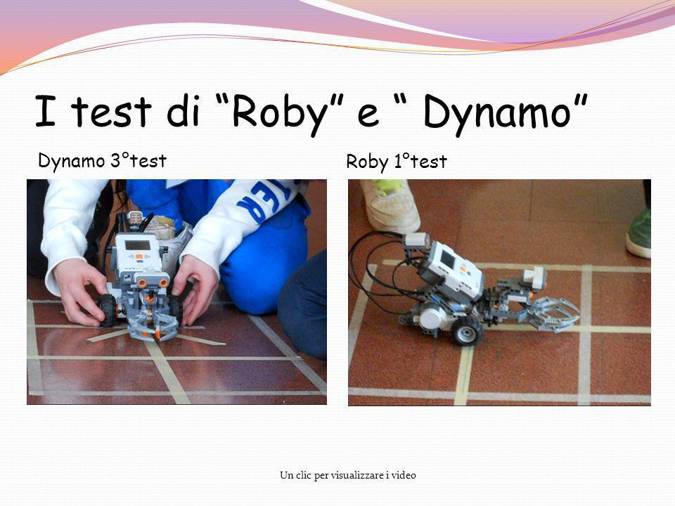 I test di Roby e Dynamo