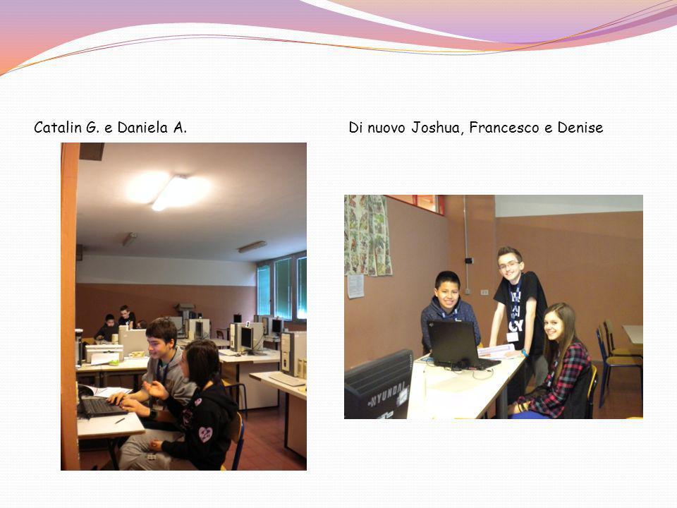 Catalin G. e Daniela A. Di nuovo Joshua, Francesco e Denise