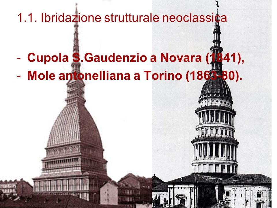 1.1. Ibridazione strutturale neoclassica