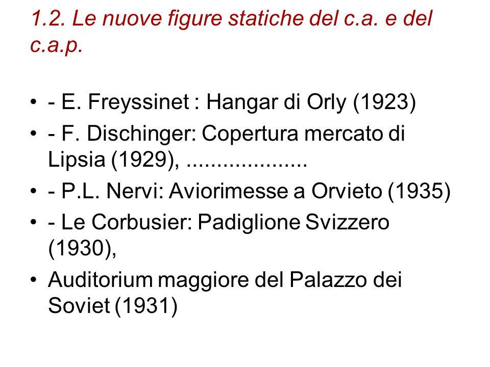 1.2. Le nuove figure statiche del c.a. e del c.a.p.