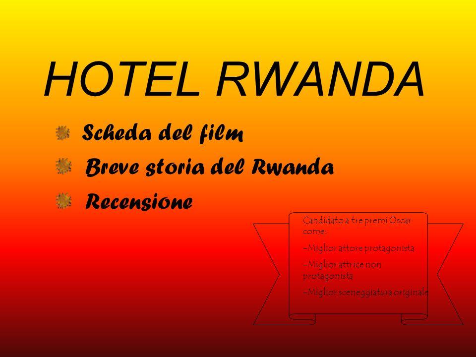 Scheda del film Breve storia del Rwanda Recensione