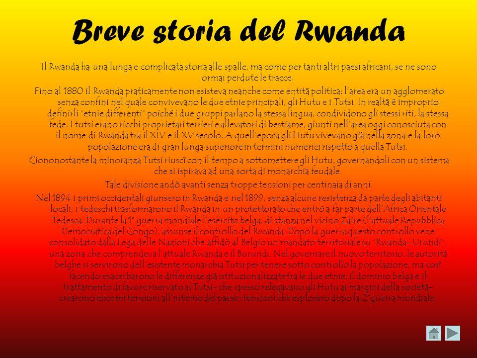 Breve storia del Rwanda