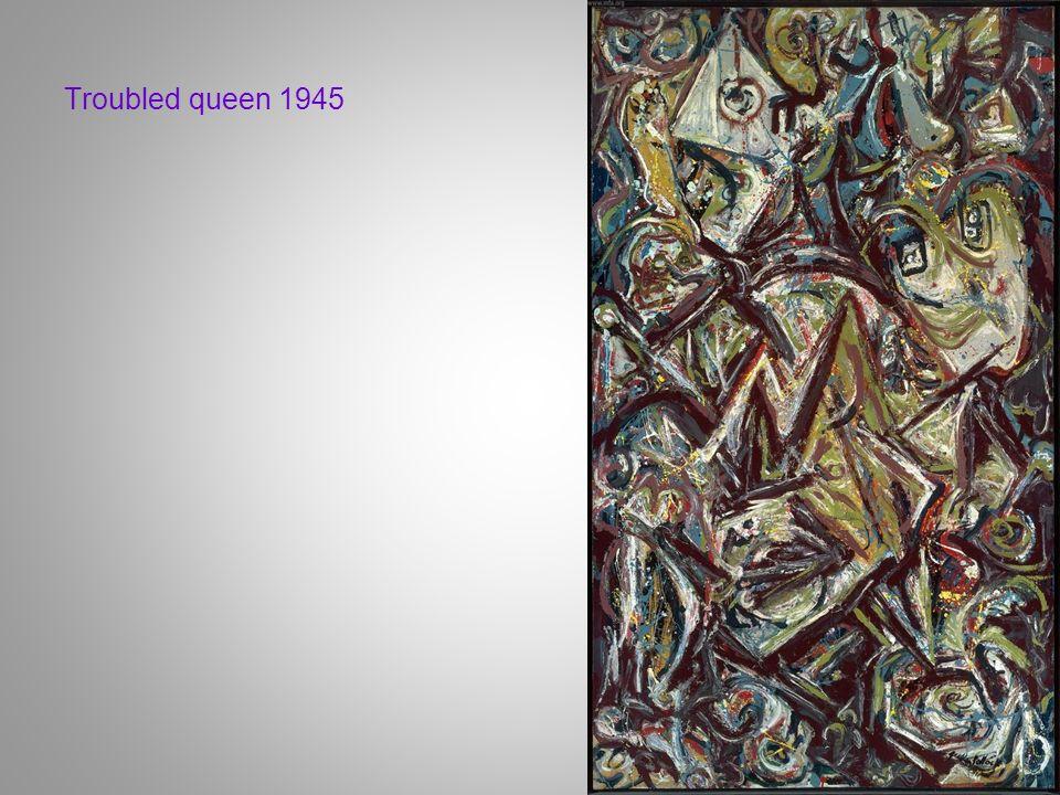 Troubled queen 1945