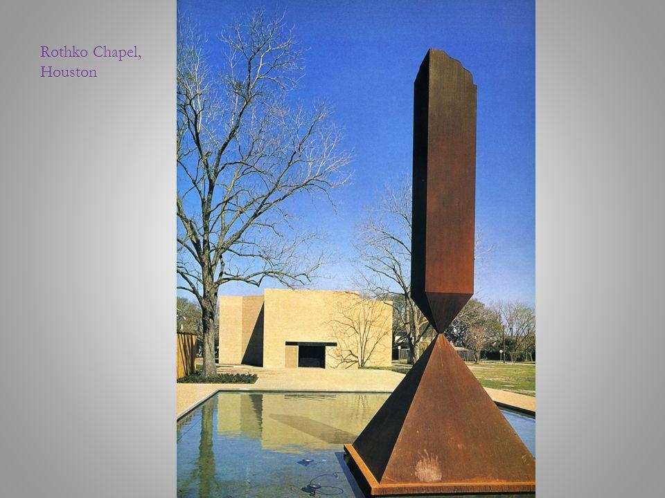 Rothko Chapel, Houston