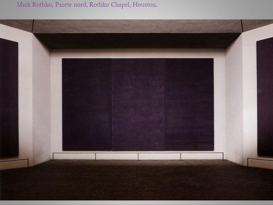 Mark Rothko, Parete nord, Rothko Chapel, Houston.