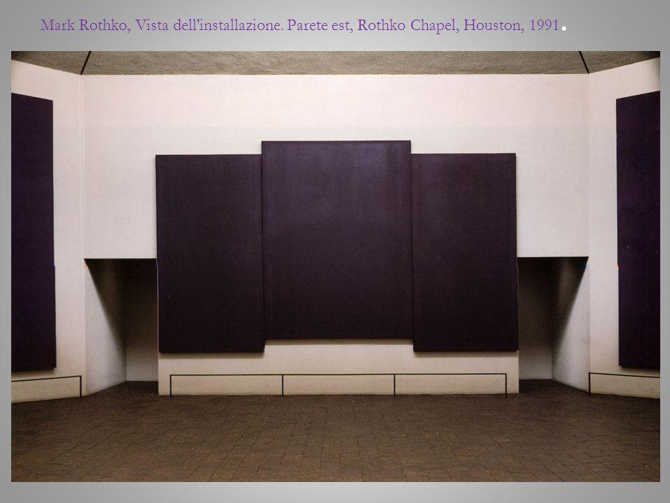 Mark Rothko, Vista dell installazione