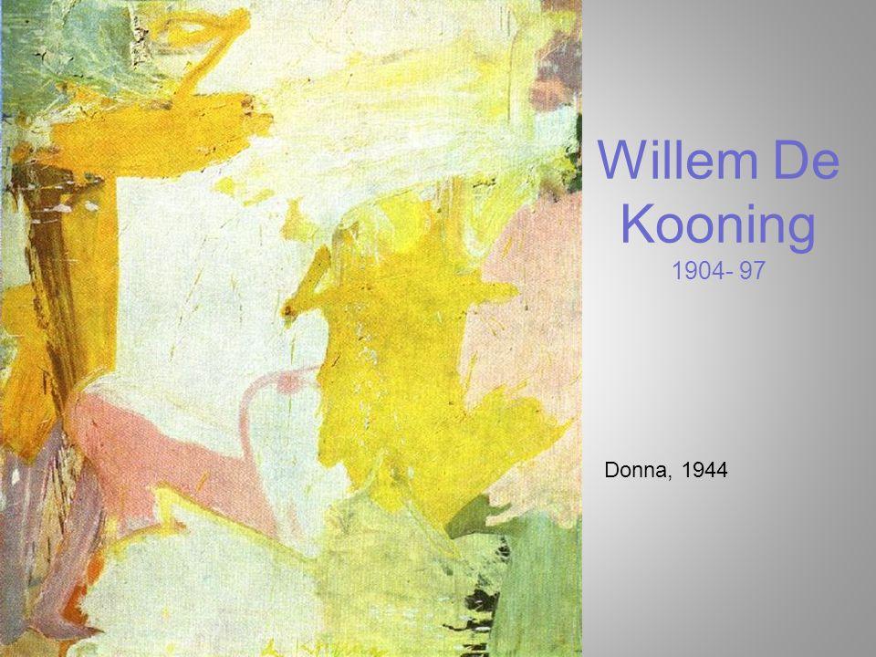 Willem De Kooning 1904- 97 Donna, 1944