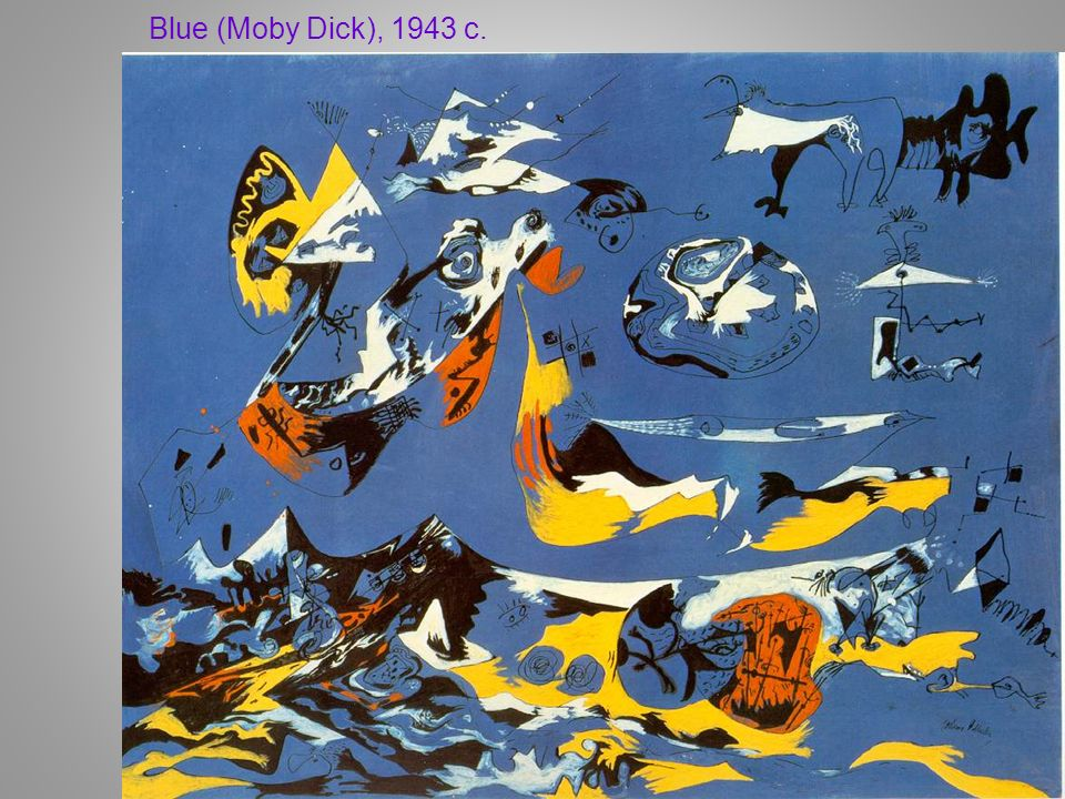 Blue (Moby Dick), 1943 c.