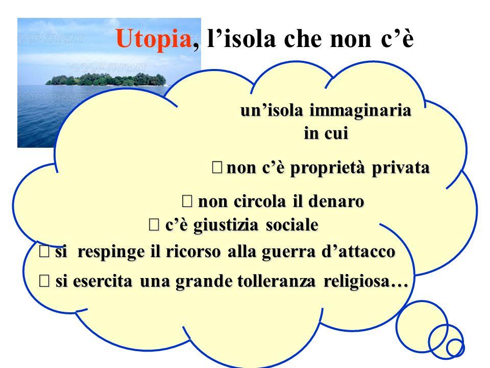 Utopia, l'isola che non c'è un'isola immaginaria in cui