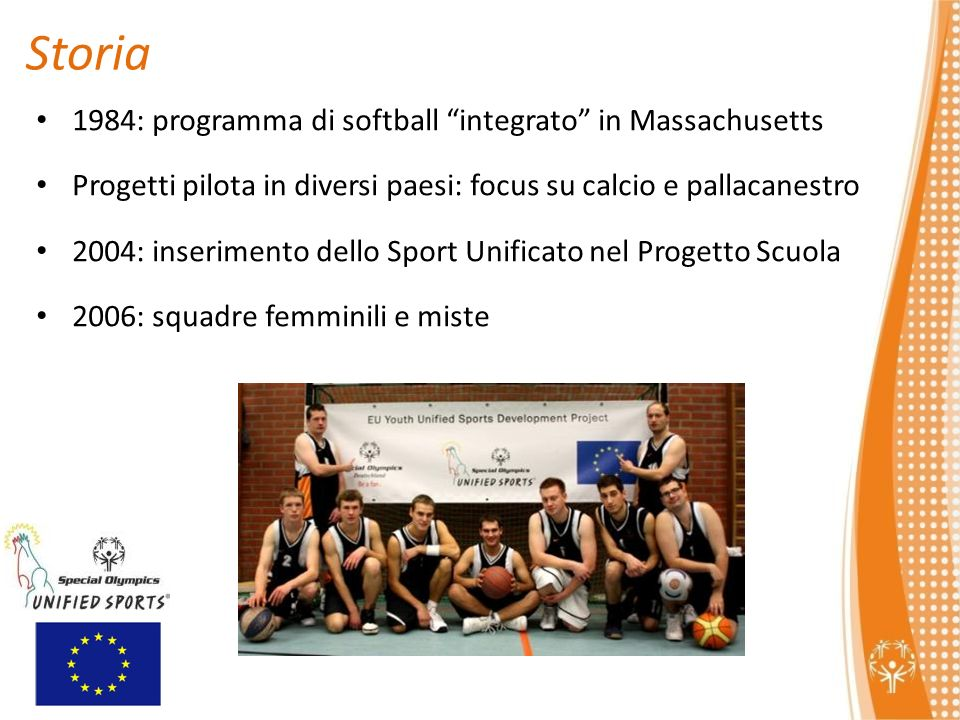 Storia 1984: programma di softball integrato in Massachusetts