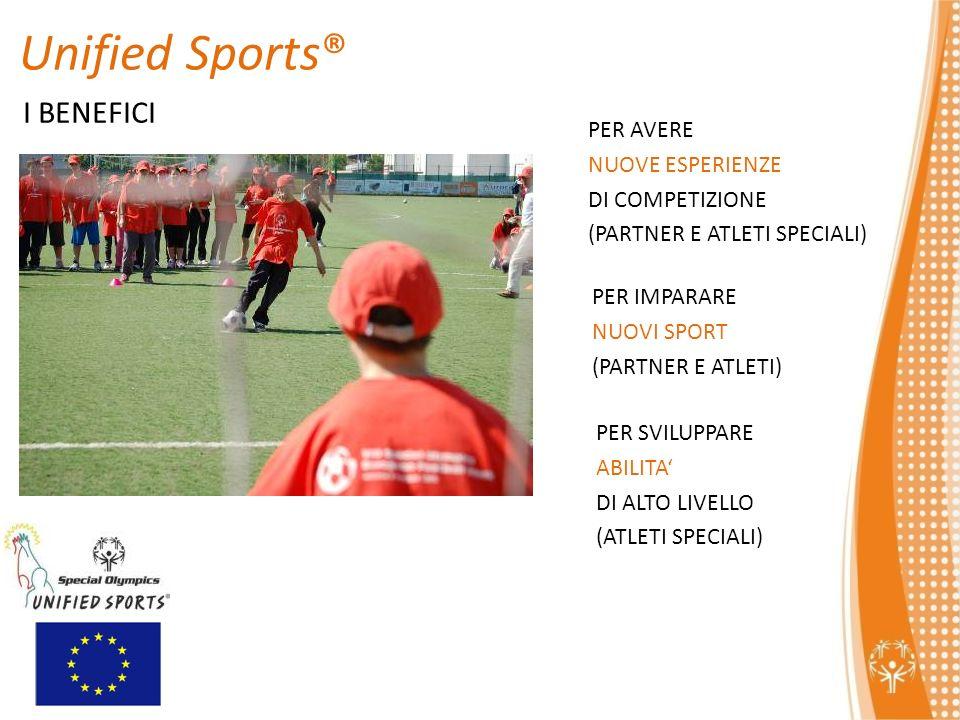 Unified Sports® I BENEFICI PER AVERE NUOVE ESPERIENZE DI COMPETIZIONE
