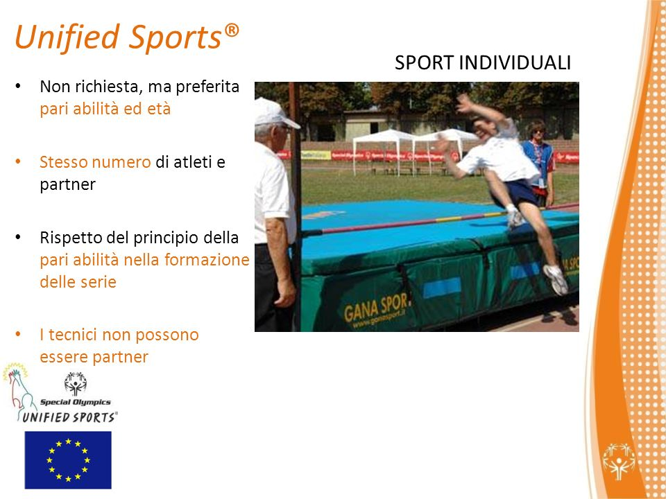 Unified Sports® SPORT INDIVIDUALI