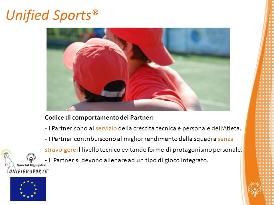 Unified Sports® Codice di comportamento dei Partner: