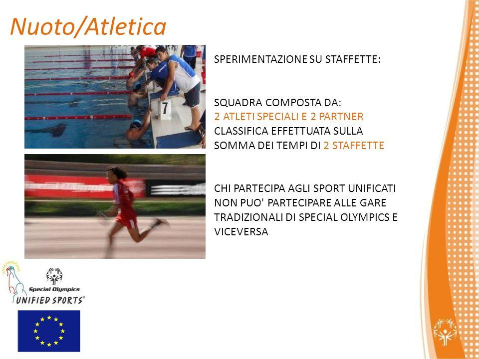 Nuoto/Atletica SPERIMENTAZIONE SU STAFFETTE: SQUADRA COMPOSTA DA: