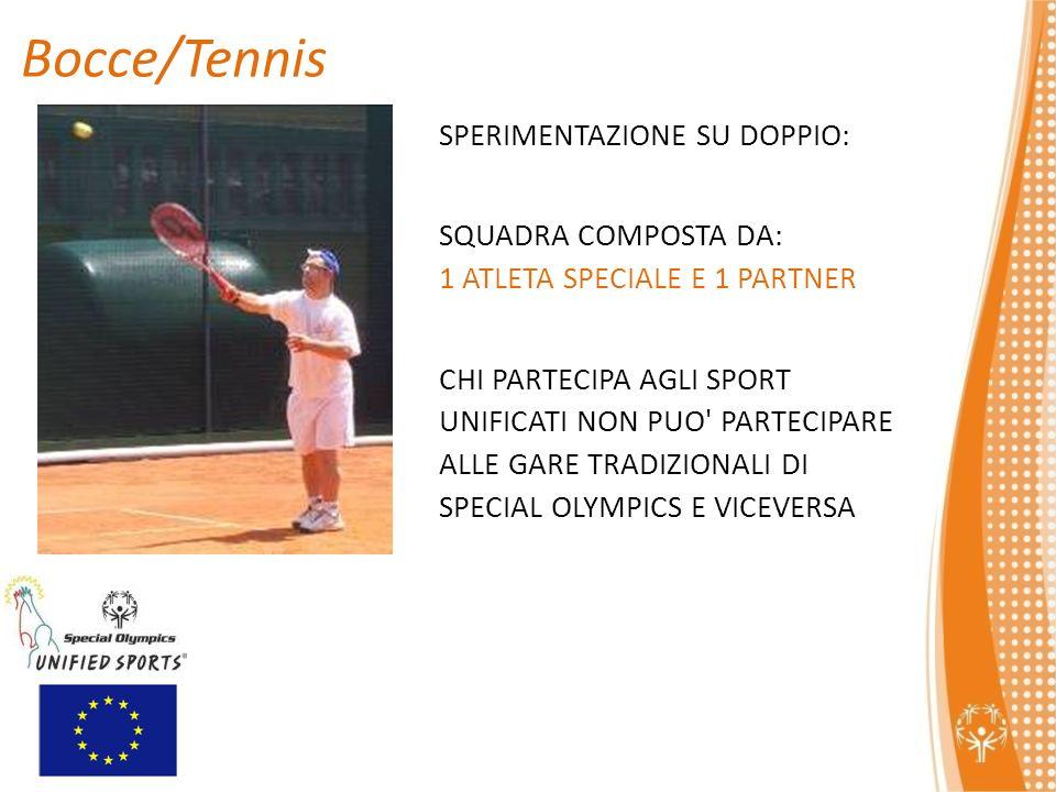 Bocce/Tennis SPERIMENTAZIONE SU DOPPIO: SQUADRA COMPOSTA DA: