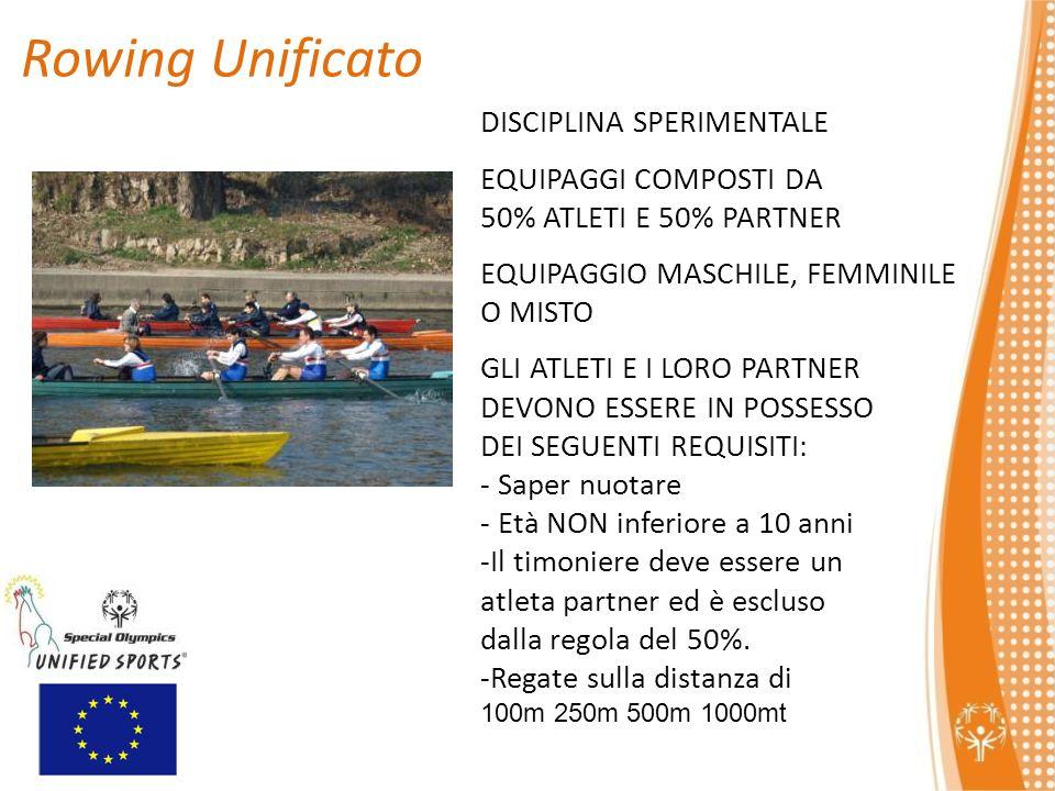 Rowing Unificato DISCIPLINA SPERIMENTALE EQUIPAGGI COMPOSTI DA