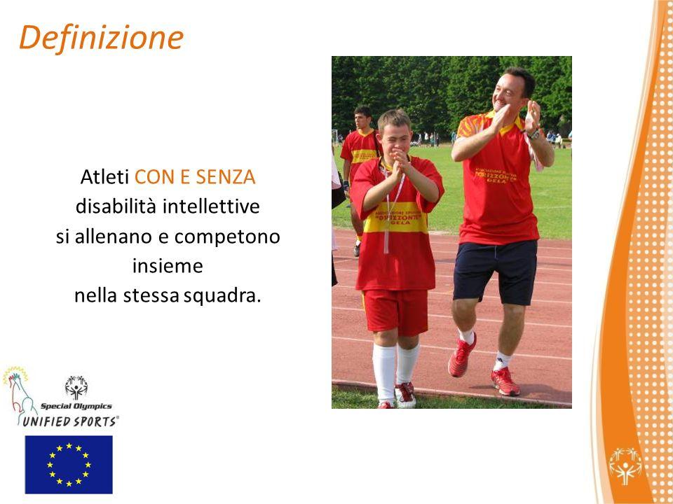 Definizione Atleti CON E SENZA disabilità intellettive