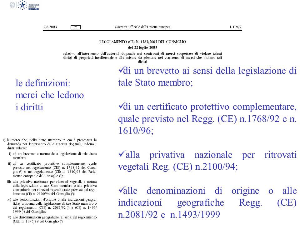 di un brevetto ai sensi della legislazione di tale Stato membro;
