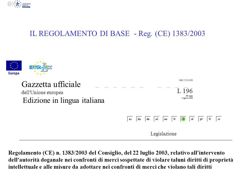 Gazzetta ufficiale dell Unione europea Edizione in lingua italiana