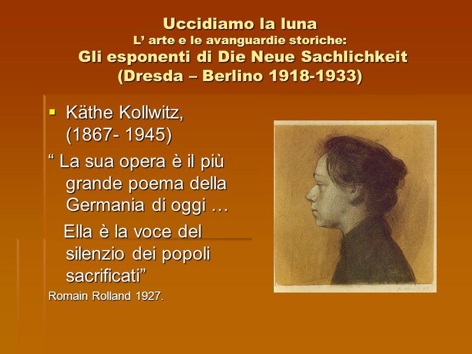La sua opera è il più grande poema della Germania di oggi …
