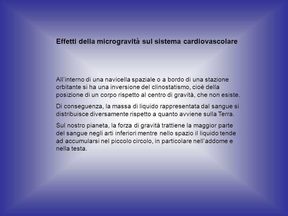 Effetti della microgravità sul sistema cardiovascolare