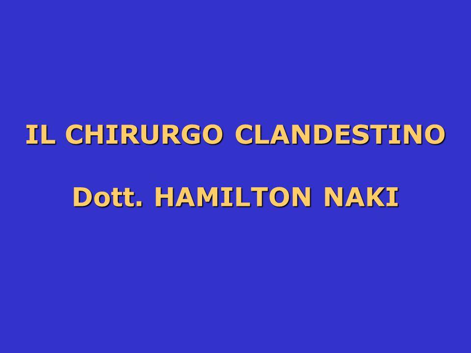 IL CHIRURGO CLANDESTINO
