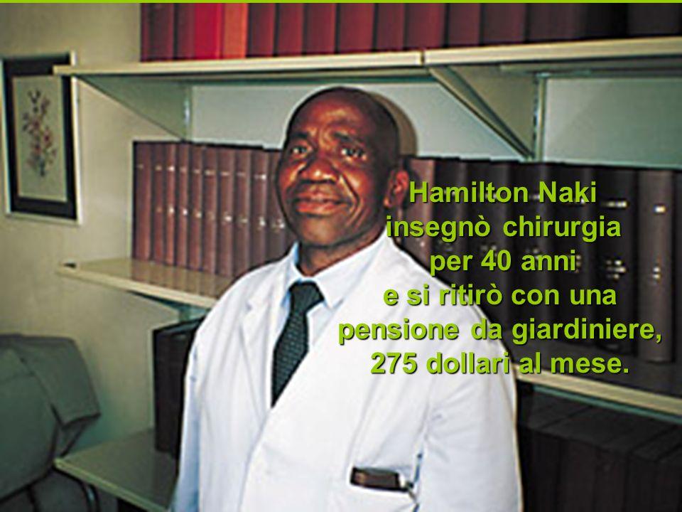 Hamilton Naki insegnò chirurgia per 40 anni