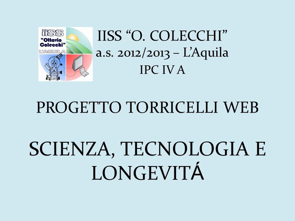 IISS O. COLECCHI . a. s. 2012/2013 – L'Aquila
