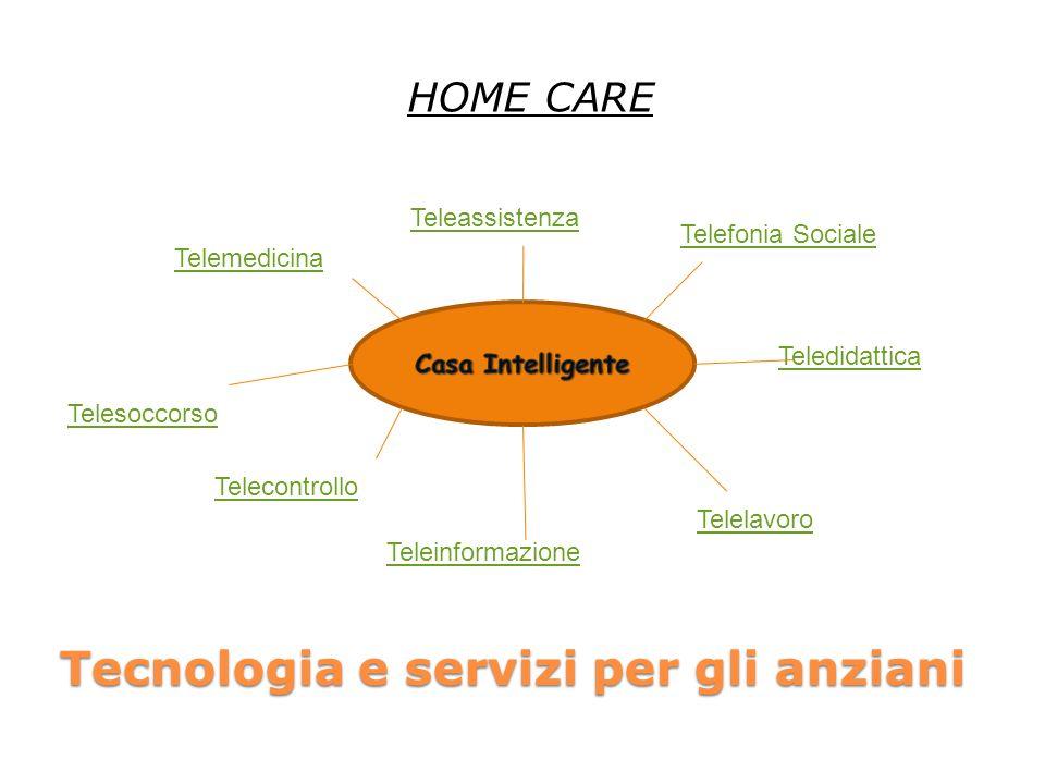 Tecnologia e servizi per gli anziani