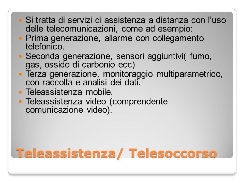 Teleassistenza/ Telesoccorso