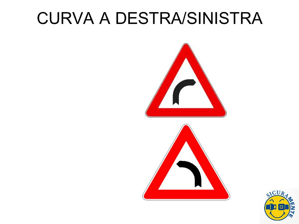 CURVA A DESTRA/SINISTRA