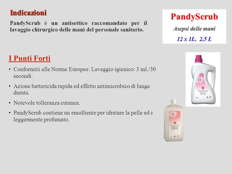 PandyScrub Indicazioni I Punti Forti