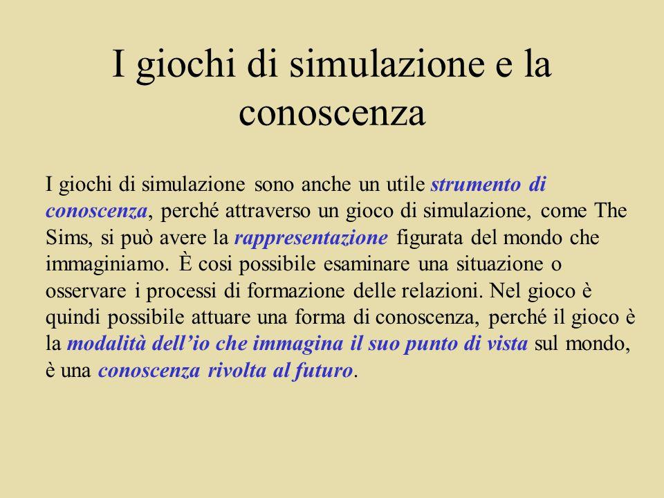 I giochi di simulazione e la conoscenza