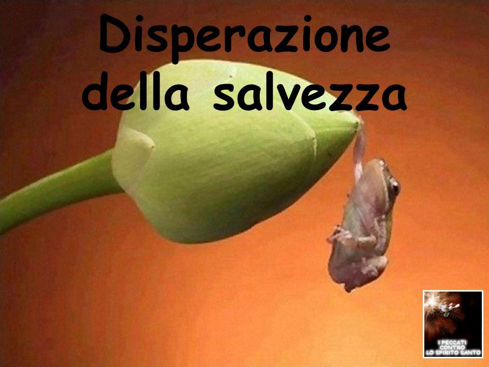 Disperazione della salvezza