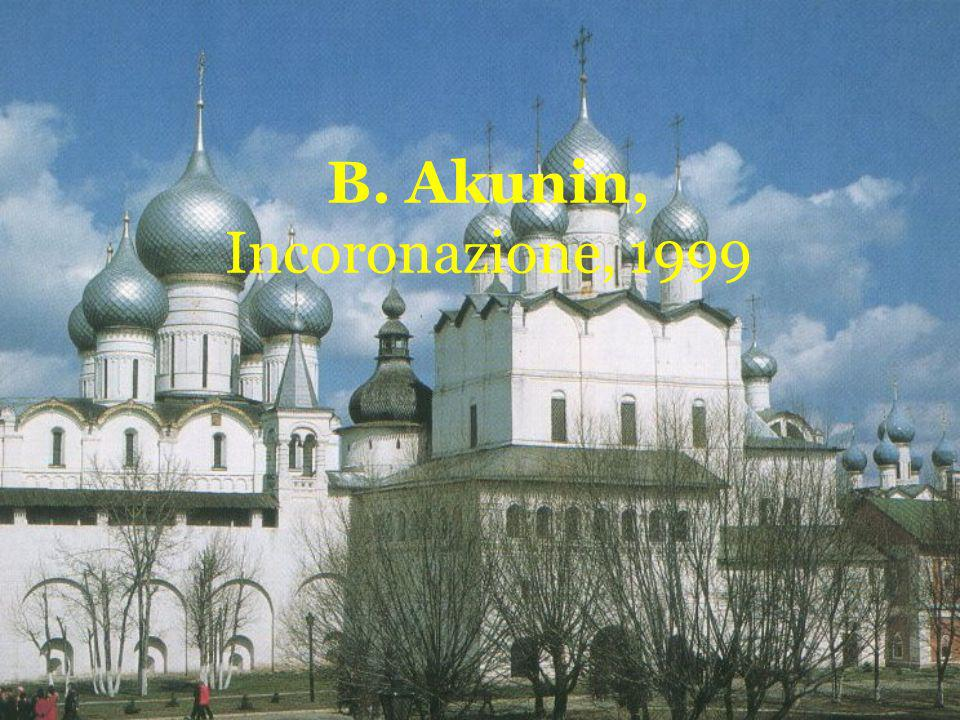 B. Akunin, Incoronazione, 1999