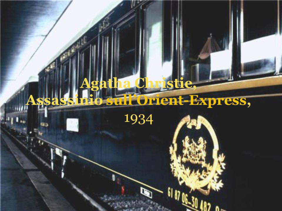 Agatha Christie, Assassinio sull'Orient-Express, 1934