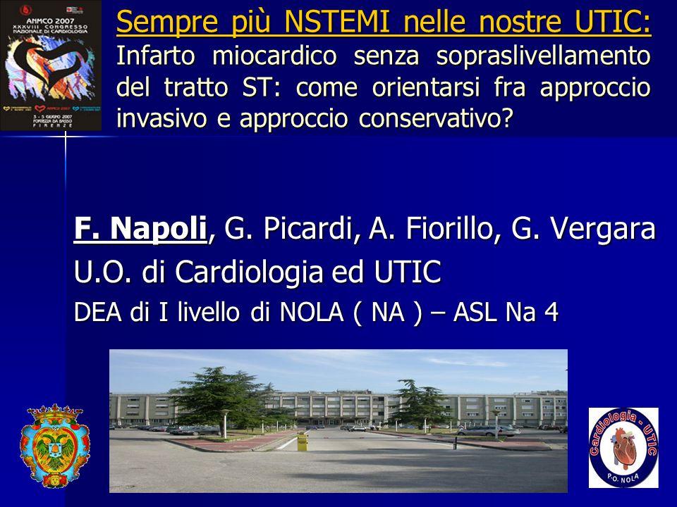 F. Napoli, G. Picardi, A. Fiorillo, G. Vergara