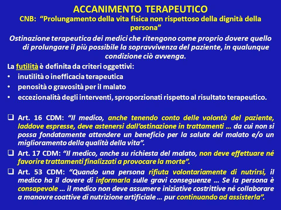 ACCANIMENTO TERAPEUTICO