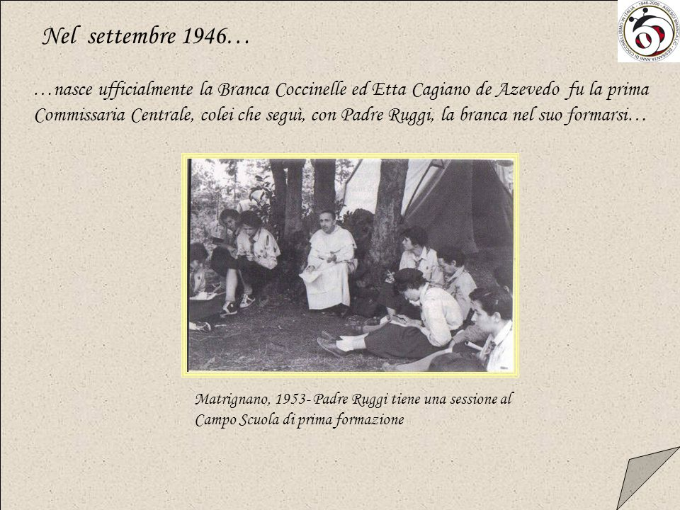 Nel settembre 1946…